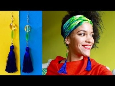 DIY Tassel Earrings | DIY Jewelry