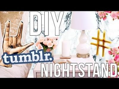 DIY Tumblr Room Decor: Lauren Elizabeth Nightstand!