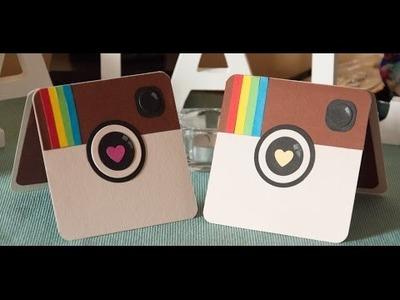 DIY Tutorial Instagram Card