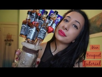 DIY: VALENTINE'S DAY ALCOHOL BOUQUET