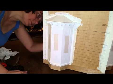 DIY window wall-to-wall exterior 3 of 3
