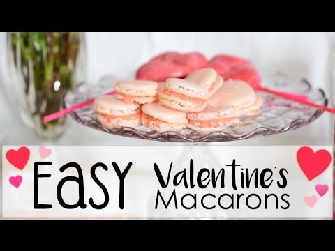 Easy + Delicious Homemade Macarons! | DIY Valentine's Day Gifts + Treats!