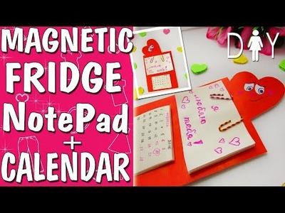 Fridge Magnet NoteBook DIY Tutorial | Cute Heart