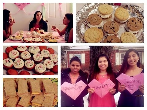 Galentine's Day DIY Tea Party! Treats + Decorations!!