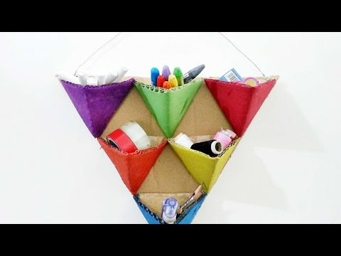 How To Create Fun Triangle Organizers - DIY Crafts Tutorial - Guidecentral