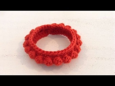 How To Crochet A Bangle Bracelet - DIY Crafts Tutorial - Guidecentral
