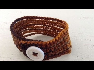 How To Crochet A Bracelet Gift - DIY Crafts Tutorial - Guidecentral
