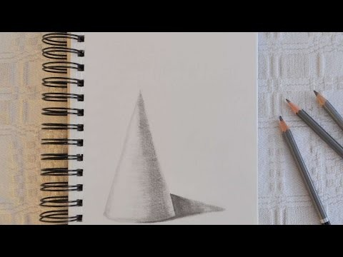 How To Draw A Well Shaded Cone - DIY Crafts Tutorial - Guidecentral