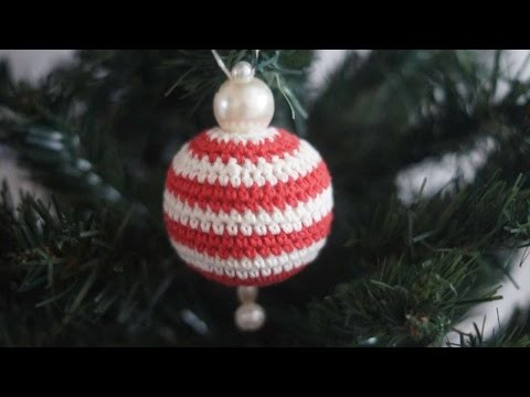 How To Knit A Striped Ball For The Christmas Tree - DIY Crafts Tutorial - Guidecentral