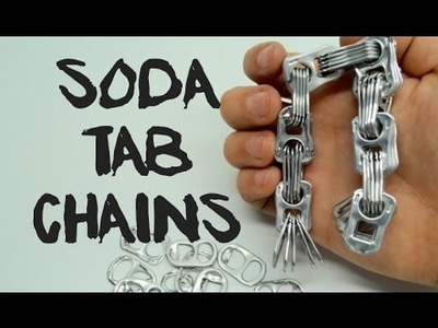 How to make a Chain with Coca-Cola tabs | your DIY |