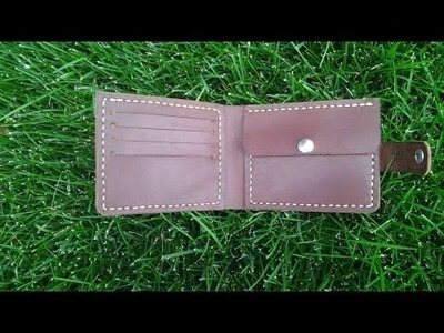 How To Make A Convenient And Reliable Leather Wallet - DIY Crafts Tutorial - Guidecentral