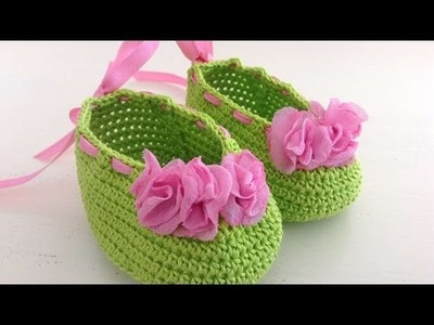 How To Make Crocheted Shoes For Dolls - DIY Crafts Tutorial - Guidecentral