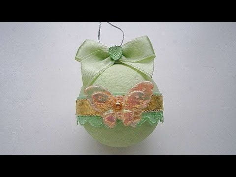 How To Make Delicate New Year Ball - DIY Crafts Tutorial - Guidecentral