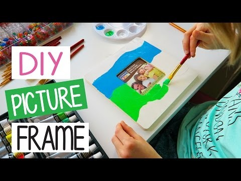 How to make DIY Picture Frame | Easy Kids Crafts