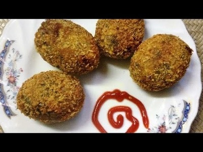 How To Make Egg  Stuffed Potato Chops - DIY Crafts Tutorial - Guidecentral
