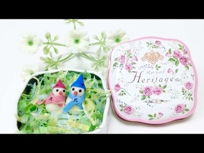 How To Upcycle Cookie Tin Can As A Gift Box - DIY Crafts Tutorial - Guidecentral