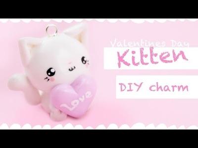 Kawaii Heart Kitten -DIY charm- !   Kawaii Friday