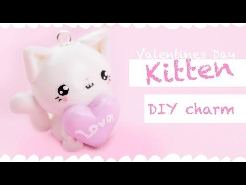 Kawaii Heart Kitten -DIY charm- ! | Kawaii Friday