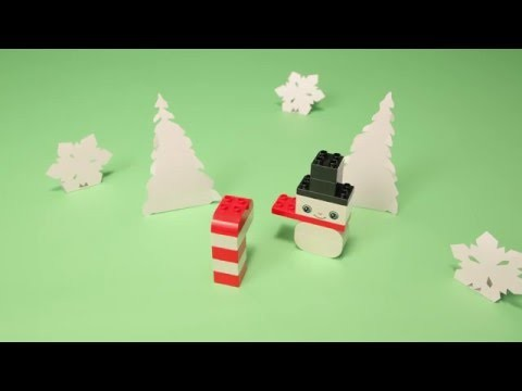 LEGO® DUPLO - DIY - How to Build your own Winter Wonderland