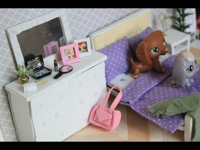 LPS DIY- How to make an LPS dresser