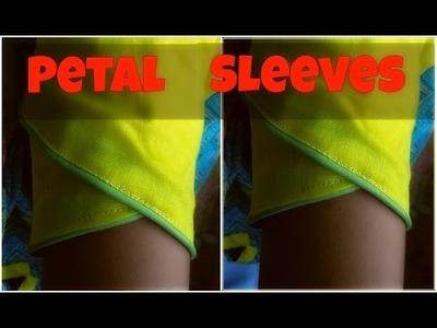 Petal sleeves | Full hindi tutorial | Easy diy