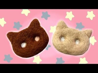 Steven Universe Cookie Cat Plush DIY Needle Felt Tutorial!