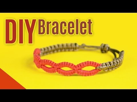 Super Easy and Cool Macrame Loops Bracelet | DIY