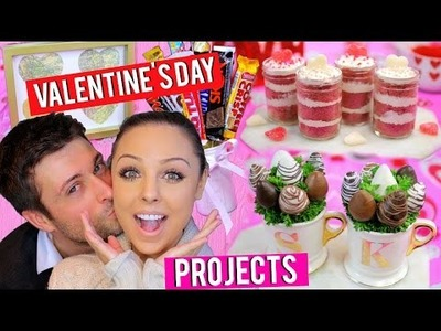 Valentine's Day DIY Projects! | Last Minute Gifts, Treats + Decor! | Kristi-Anne Beil