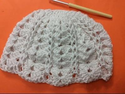 Cach moc mu len nu phan 3 (het) How to crochet a hat part 3 (final)