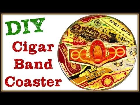 Cigar Band Coaster DIY ~ Another Coaster Friday