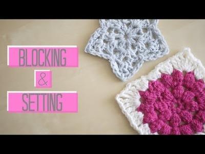CROCHET BASICS: Blocking and Setting | Bella Coco