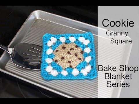Crochet Cookie Granny Square | Bake Shop Blanket Series | Sewrella