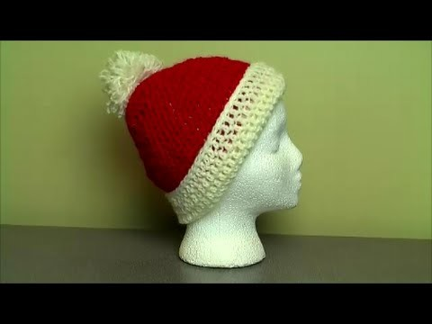 Crochet easy toque hat