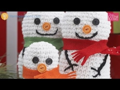 Crochet Snowman Family: Adult Tutorial