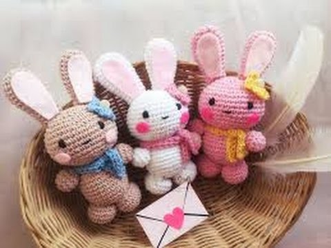 Crochet Tutorial - How to crochet Bunny Berry - Amigurumi