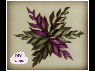 Decoration paper craft DIY ideas tutorial