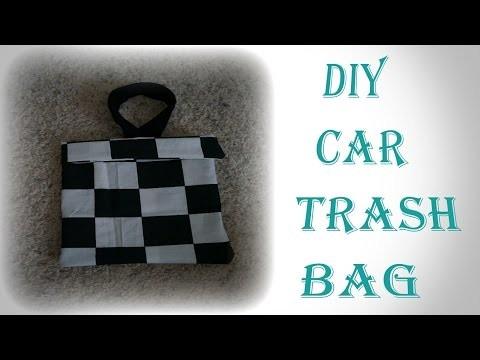 DIY Car Trash Bag