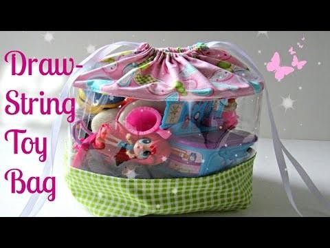 DIY Draw-String Toy Bag