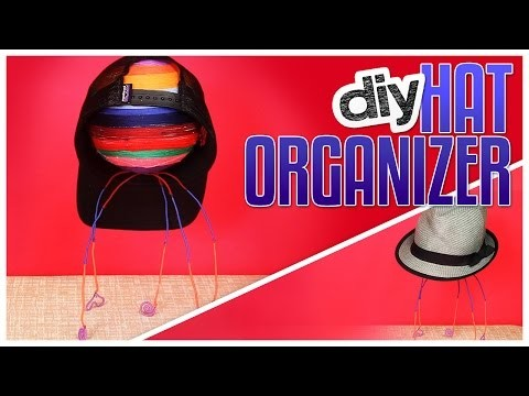DIY Hat Organizer - Do It, Gurl