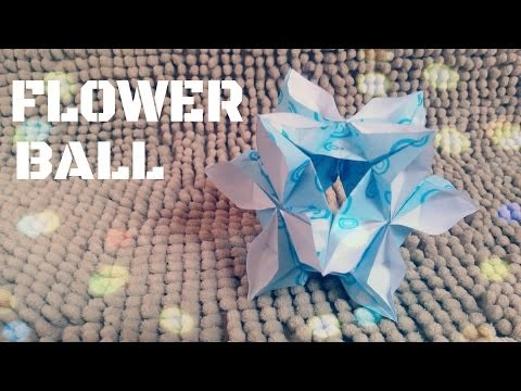 DIY - Origami Flower Ball