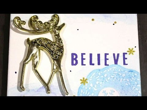 How To Create A Beautiful Reindeer Wall Art - DIY Crafts Tutorial - Guidecentral