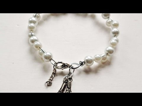 How To Create A Beautiful Pearl And Charm Bracelet - DIY Crafts Tutorial - Guidecentral