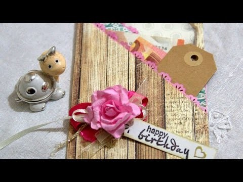How To Create A Birthday Money Card - DIY Crafts Tutorial - Guidecentral