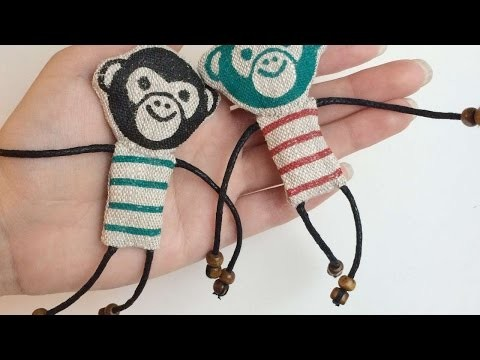 How To Create A Cheerful Monkey Magnet - DIY Crafts Tutorial - Guidecentral