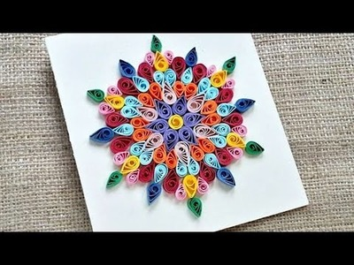 How To Create A Colorful Quilled New Year's Card - DIY Crafts Tutorial - Guidecentral