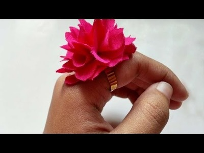 How To Create A Fluffy Flower Ring - DIY Crafts Tutorial - Guidecentral