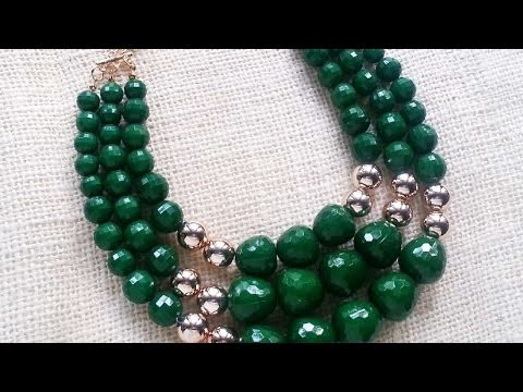 How To Create A Gorgeous Beaded Necklace - DIY Crafts Tutorial - Guidecentral