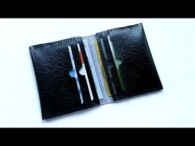 How To Create A Pocket Multiple Card Holder - DIY Crafts Tutorial - Guidecentral