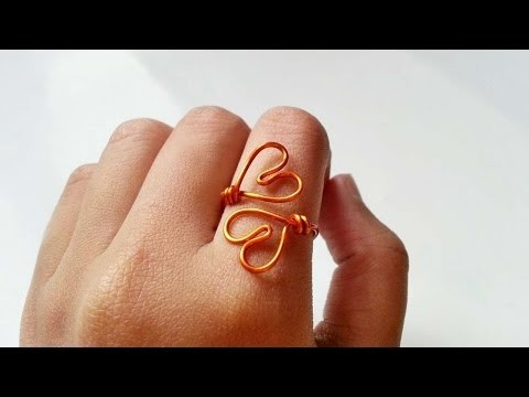 How To Create A Simple Double Heart Ring - DIY Crafts Tutorial - Guidecentral