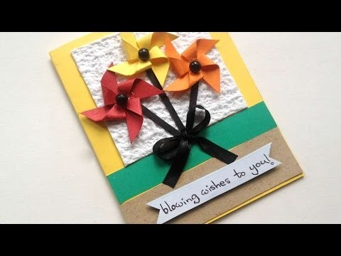 How To Create A Windmill Wish Card - DIY Crafts Tutorial - Guidecentral